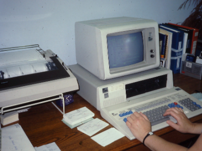 photo of dynix computer system