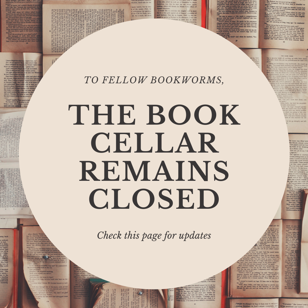 book cellar is still closed, check for updates periodically