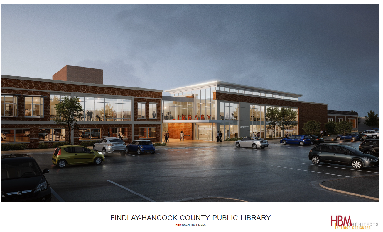 photo of proposed new library